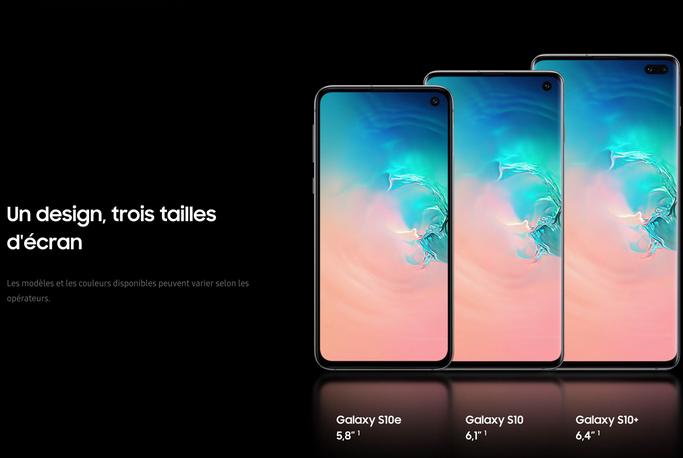Précommandes ouvertes pour le Samsung Galaxy S10 chez Sosh et Orange.