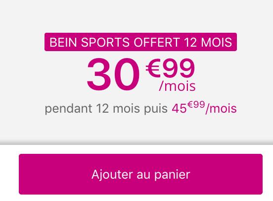 Le forfait mobile Sensation 70 go de Bouygues Telecom donne accès à 100€ de réduction sur un iPhone XS.
