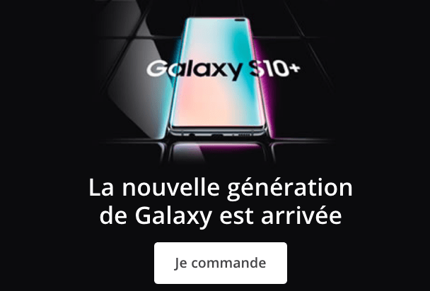 Commander nouveau Samsung Galaxy S10 chez Bouygues Telecom.