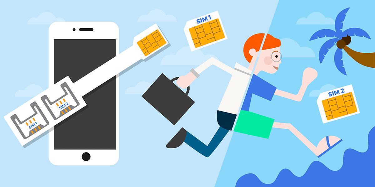 Adaptateur double SIM
