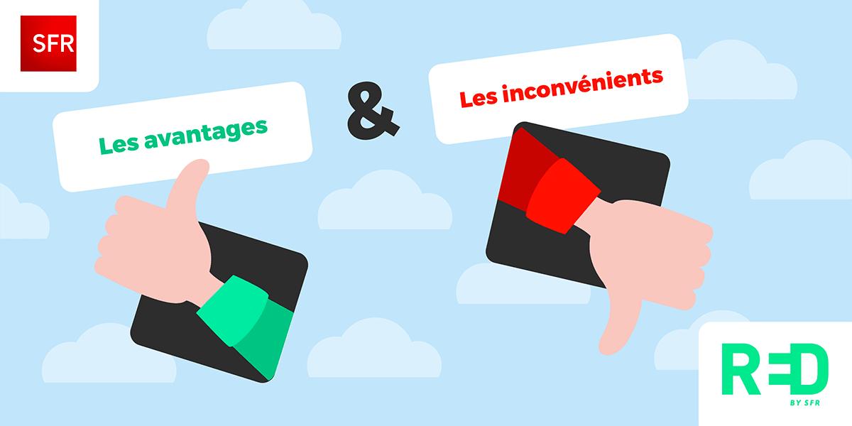 Avantages et inconvénients de RED by SFR