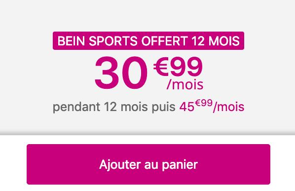 Forfait avec smartphone et 70 Go de 4G chez Bouygues Telecom.
