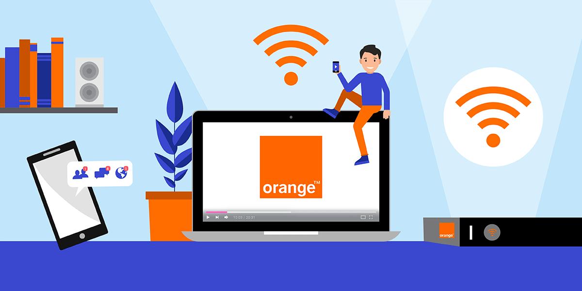 Box internet Orange