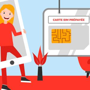 Cartes SIM prepayées et recharges mobiles