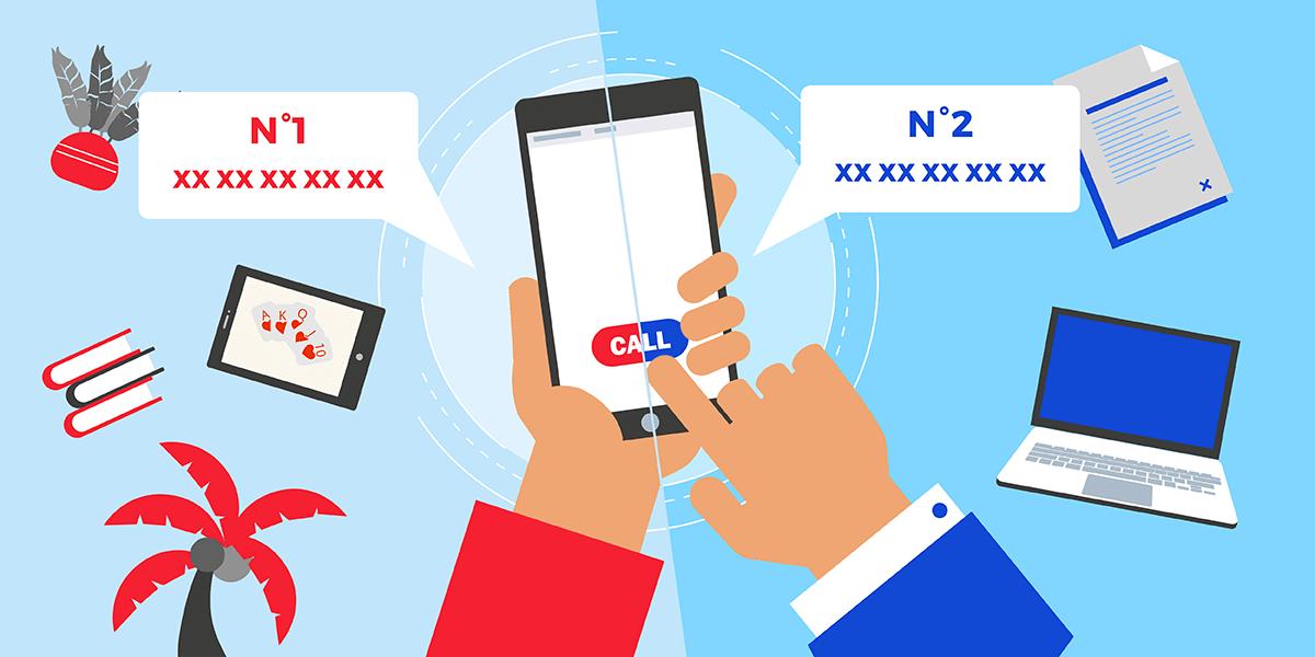 Utiliser 2 numéros sur un téléphone
