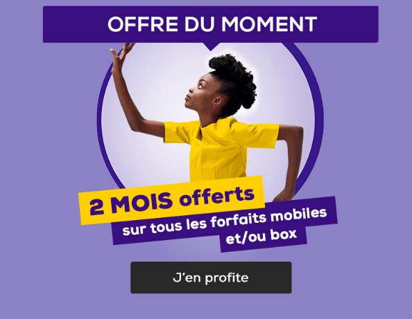 Le forfait 2 heures de La Poste Mobile.