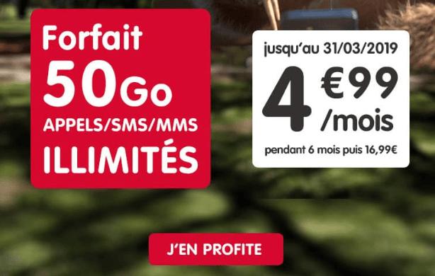 NRJ mobile forfait sans engagement en promo.