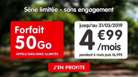 50 Go à 4,99€ avec NRJ Mobile.