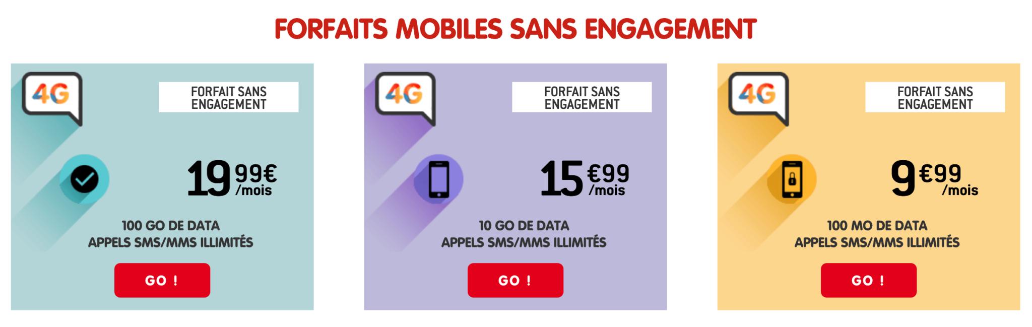 Avis Forfaits NRJ Mobile