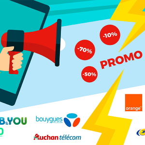 Forfaits mobiles en promotion