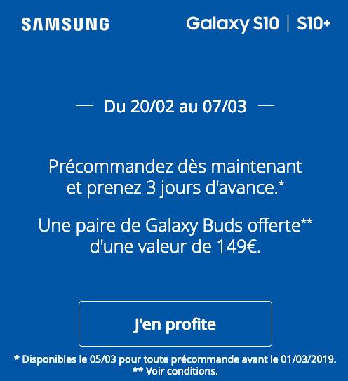 Galaxy S10, le nouveau smartphone de Samsung, en précommande chez B&YOU avec un forfait sans engagement.
