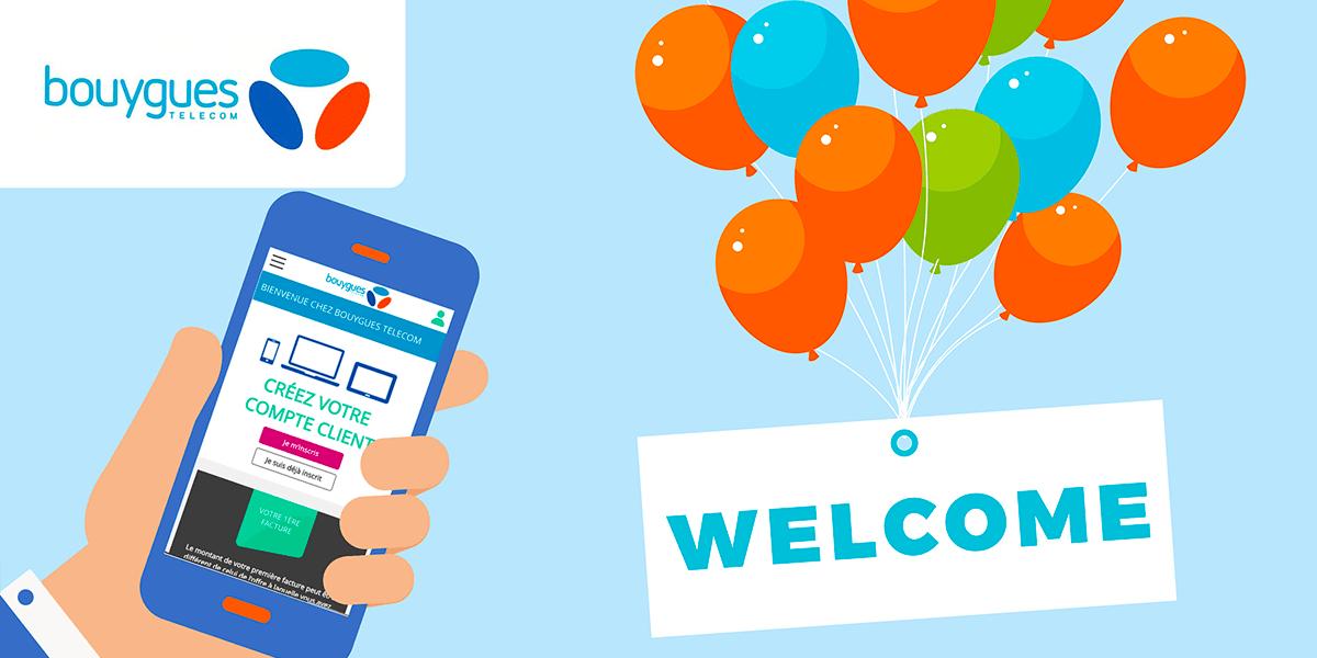 Offre de bienvenue Bouygues Telecom