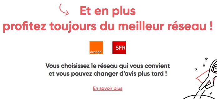 Prixtel promotion sur les réseaux Orange et SFR.