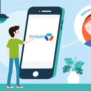 Service client Bouygues Telecom et B and YOU