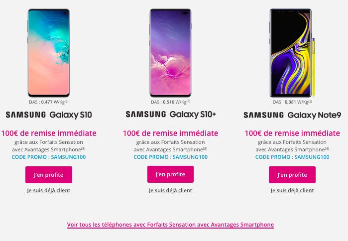promo Samsung Bouygues