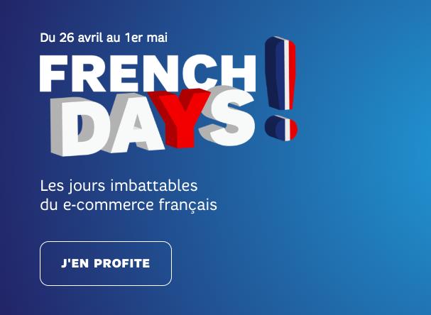 Les smartphones des French Days de SFR.