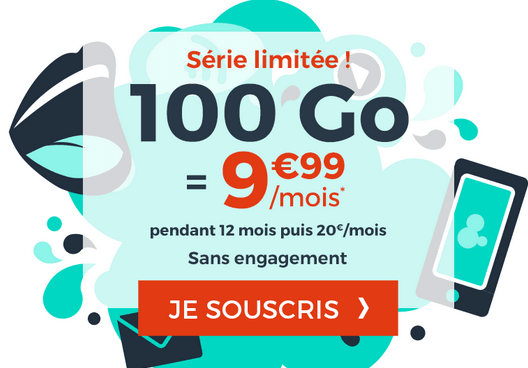Cdiscount Mobile promo forfait 4G.