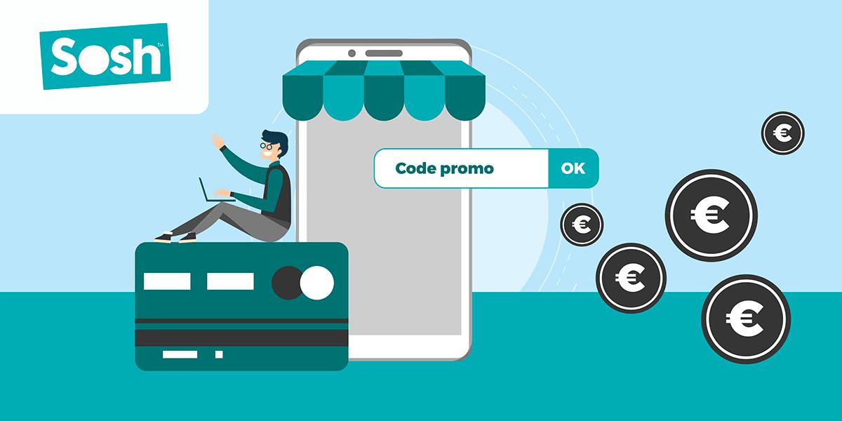 Utiliser code promo Sosh