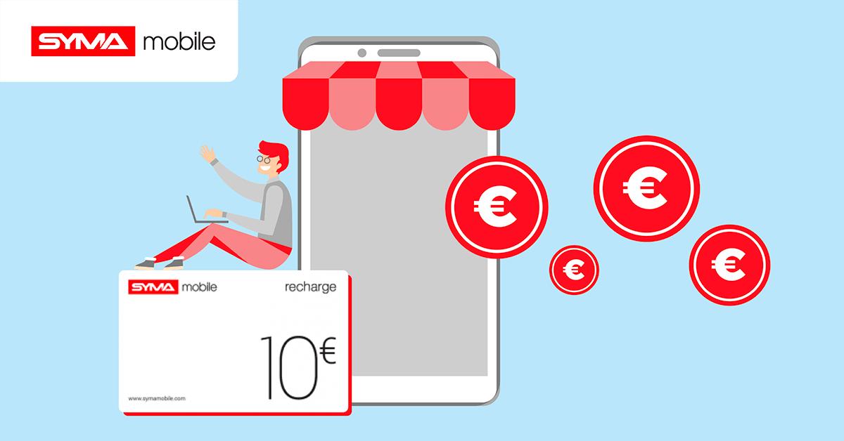 Les promotions sur les cartes sim prépayées de Syma mobile