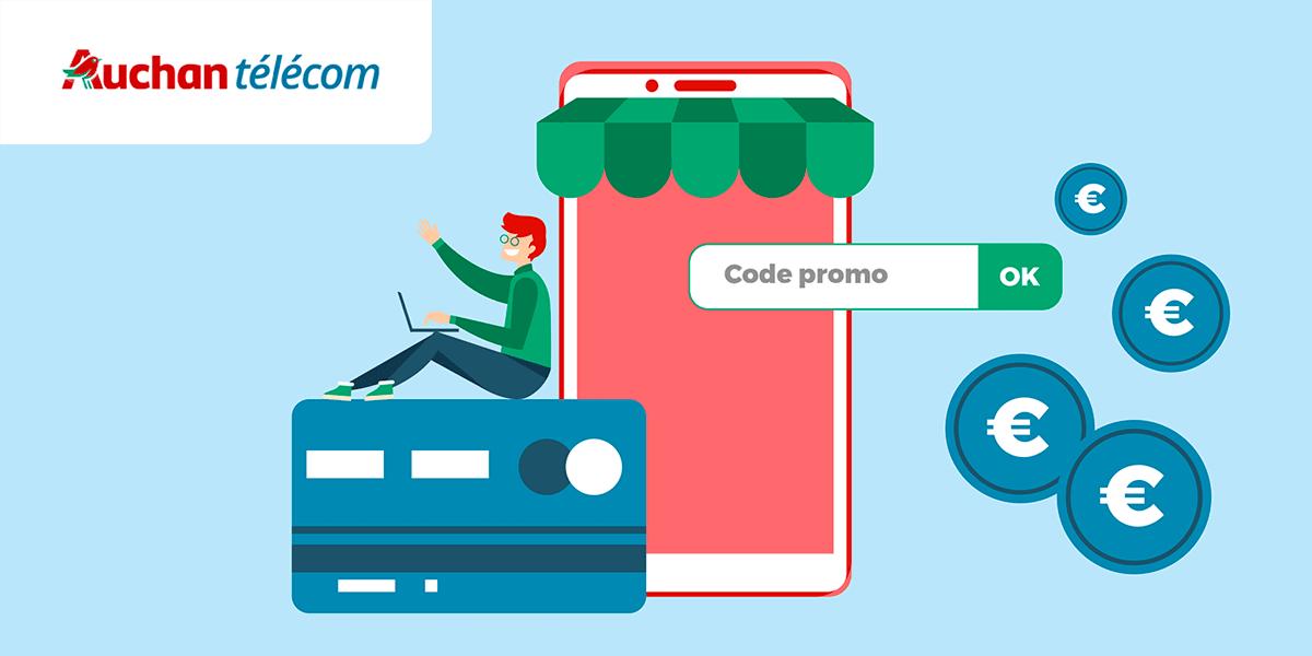 Code promo sur les forfaits Auchan Telecom