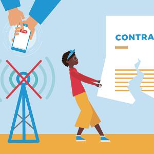 Résilier son contrat en cas de problème de réseau