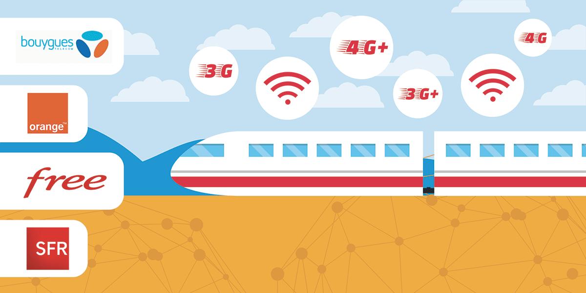 La couverture réseau dans les transports