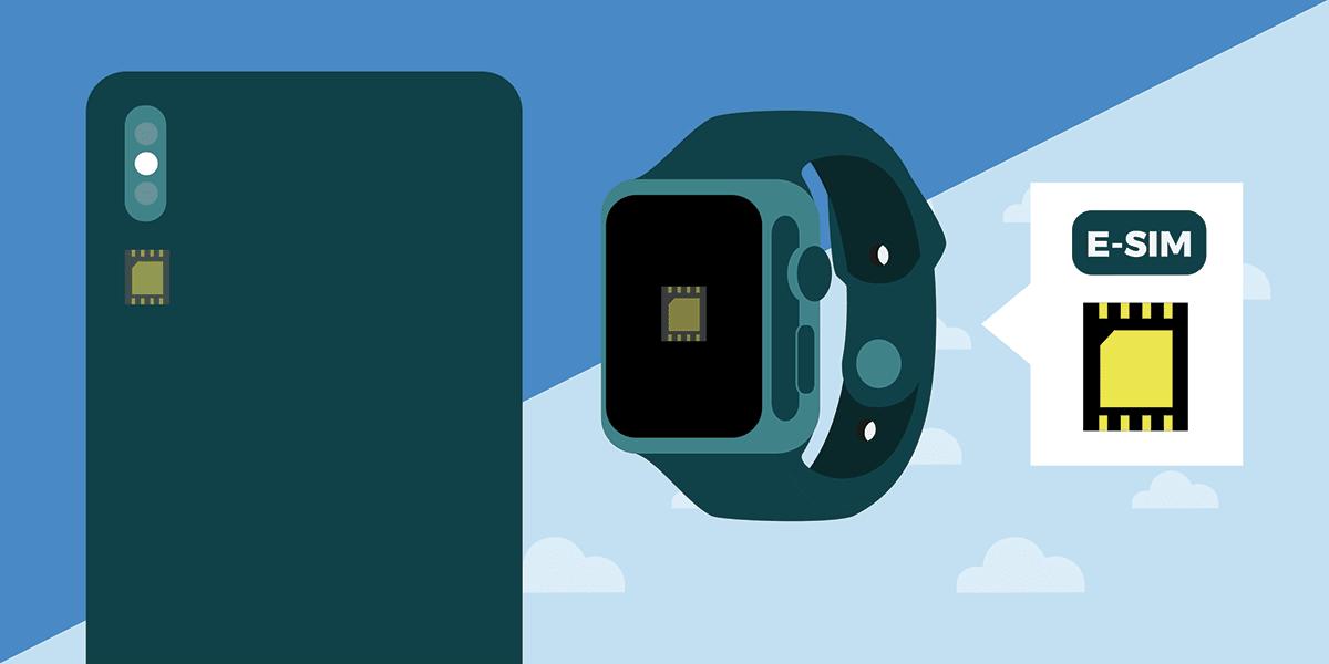 Forfait eSIM pour sa montre connectée