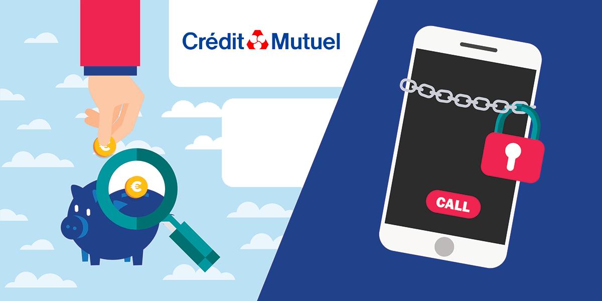 Forfaits bloqués Crédit Mutuel Mobile