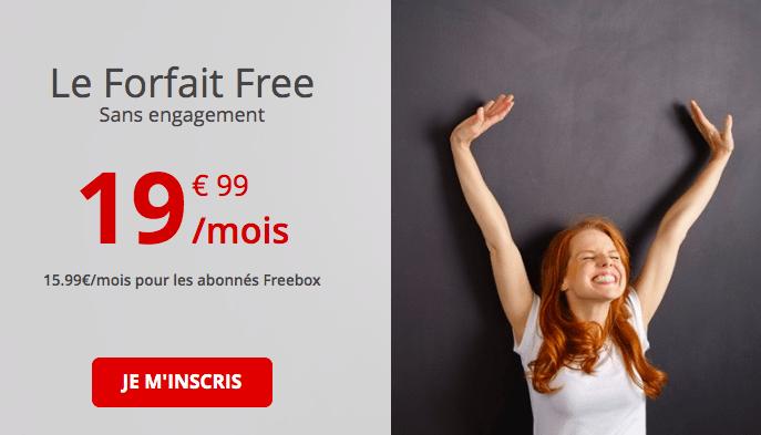 le forfait 100 Go de Free