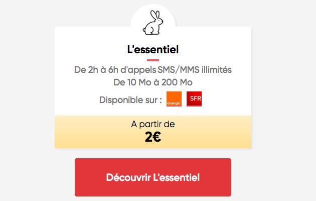 Que vaut le forfait ajustable de Prixtel, à partir de 2€ par mois ?