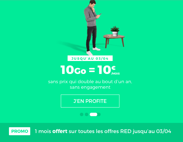 forfait red 10 Go