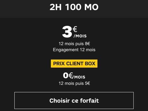 Promo forfait mobile pas cher voire gratuit.