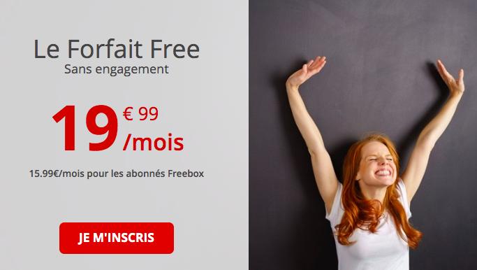 Le forfait Free 100 Go