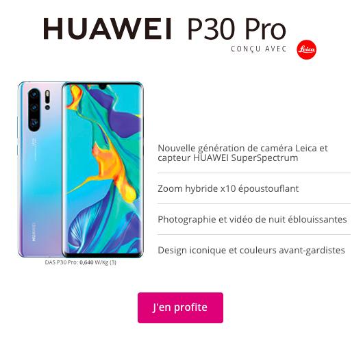 huawei P30 Pro avec Bouygues Telecom