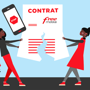 Resilier son forfait Free mobile