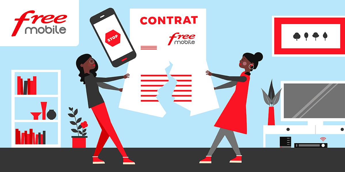 free mobile s occupe de la r?siliation