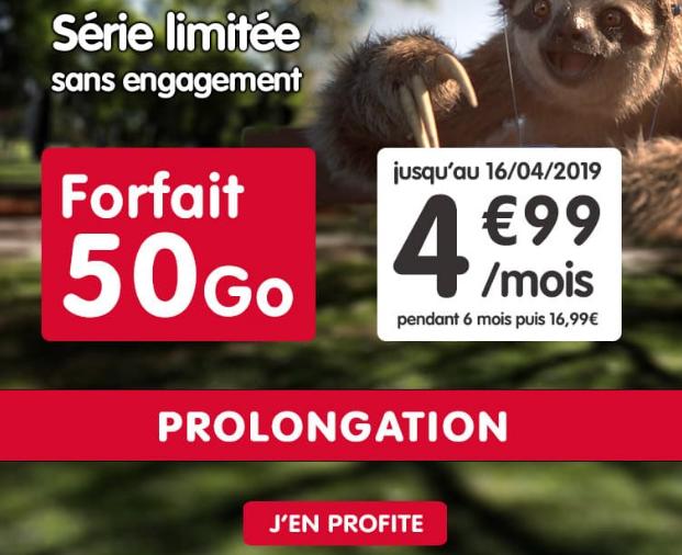 Promo pour un forfait pas cher chez NRJ Mobile.