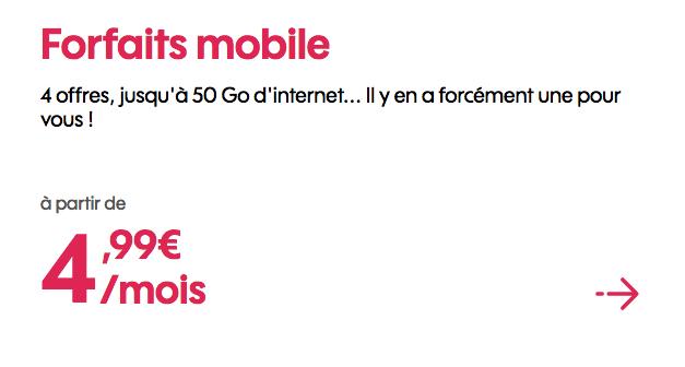 Forfait mobile pas cher ches la marque sans engagement d'Orange.