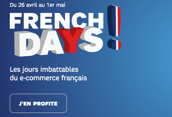 French Days promotion SFR forfait 4G.