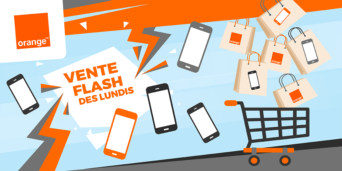 Promotions d'Orange : ventes flash