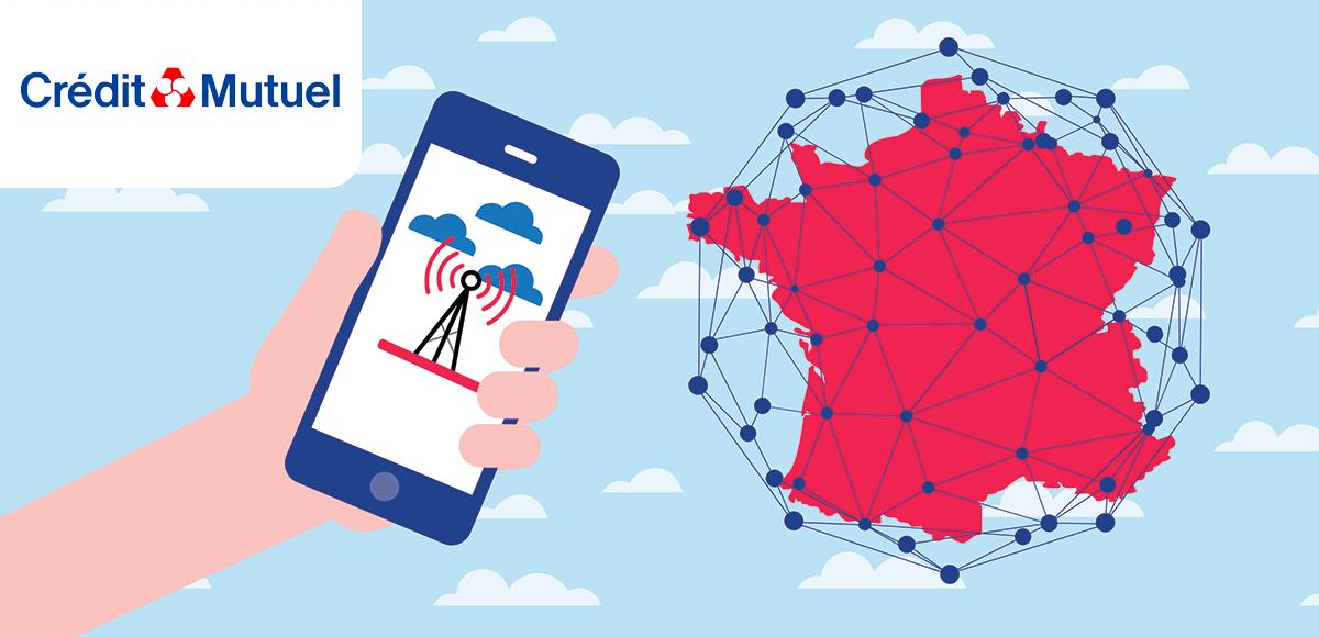 Couverture réseau Crédit Mutuel Mobile
