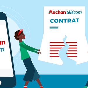 Résilier son forfait Auchan Telecom