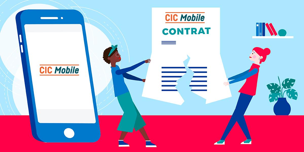 Résilier Forfait CIC Mobile