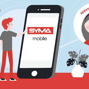 Contacter service client Syma mobile