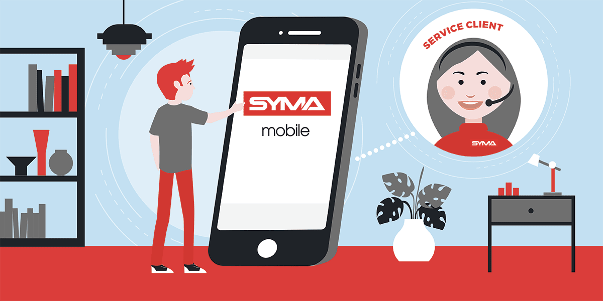 Contacter service client Syma mobile
