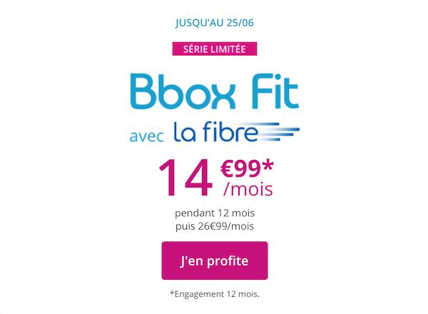L'offre promotionnelle Bouygues Telecom pour sa Bbox fit