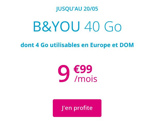 B&YOU 40 Go