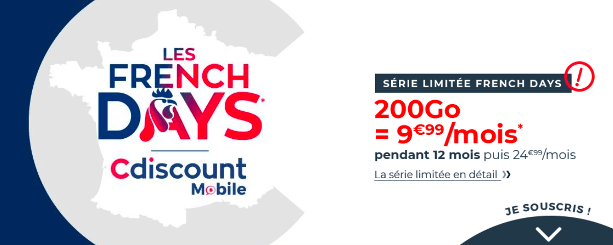 French Days Cdiscount Mobile