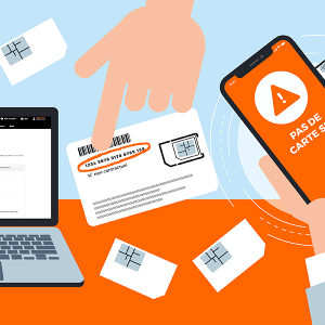 Activer carte SIM Orange