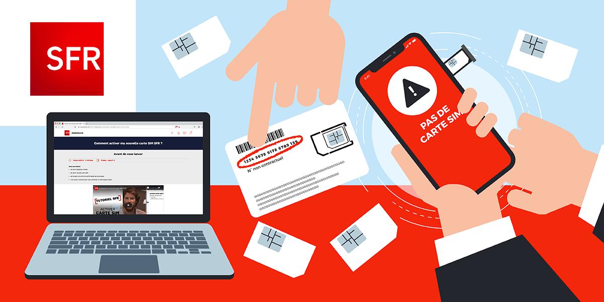 Activer carte SIM SFR